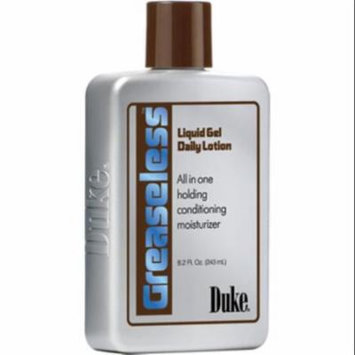 Duke Greaseless Liquid Gel Daily Lotion, 8 oz