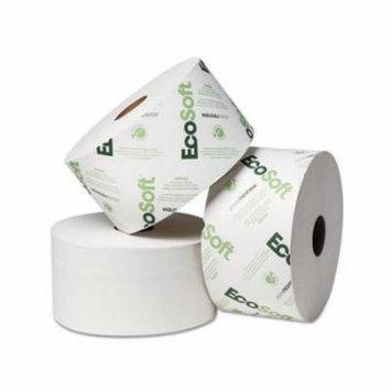 Wausau Paper EcoSoft OptiCore 2-Ply Bathroom Tissue, 2000 sheets, 200 rolls