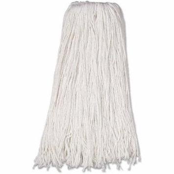 Boardwalk White Rayon Fiber Premium Standard Mop Head, 12 count