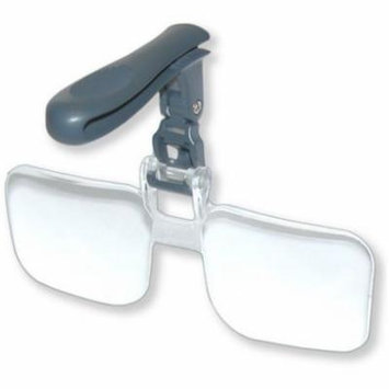 Carson VisorMag 2.25x Power +5.00 Diopters Clip-On Magnifying Lens for Hats VM-1
