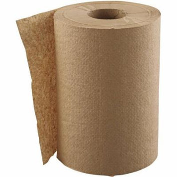 GEN 1-Ply Natural Hardwound Roll Paper Towels, 300 ft. Rolls, (Pack of 12)