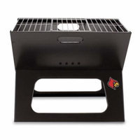 NCAA Louisville Cardinals Portable Charcoal X-Grill