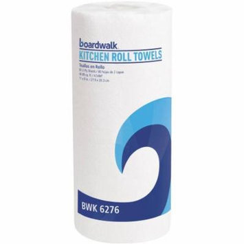 Boardwalk 2-Ply White Perforated Paper Towels, 80 Sheet Rolls, (Pack of 30)