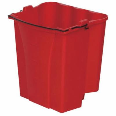 Rubbermaid Commercial Products Dirty Water Bucket, Red