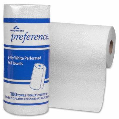 Georgia Pacific Preference 100sht Perf. Roll Towels -GPC27300CT