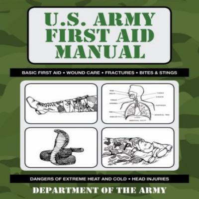 U.S. Army First Aid Manual Multi-Colored