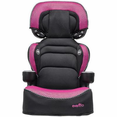 Evenflo Advanced Big Kid LX Booster Car Seat, Rose