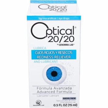 Optical 20/20 Advanced Formula Lubricant Eye Drops, 0.5 fl oz