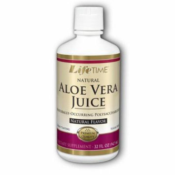 Aloe Vera Juice Natural Flavor LifeTime 32 oz Liquid