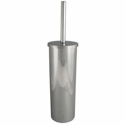 Exquisite Tahoe Toilet Brush and Can, Chrome