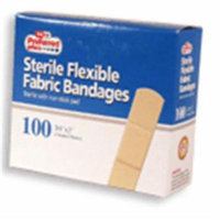 Bandages Flexible Fabric Adhesive 3/4 Inch X 3 Inches 100 ea