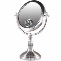 Rucci M959 Nickel Plated Iron Mirror with 15x Insert