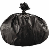 Boardwalk 56 Gallon Super Extra-Heavy Grade Trash Bags, Black, 25 count, (Pack of 4)