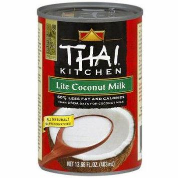Thai Kitchen Lite Coconut Milk, 13.66 oz (Pack of 12)