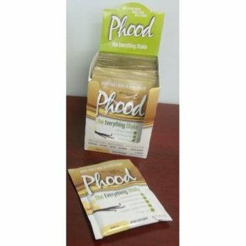 Phood Shake Vanilla Box PlantFusion 12 ct Packet