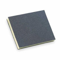 NORTON 63642502538 Sanding Sponge, X Coarse, 4.75x3.75x1/2 In