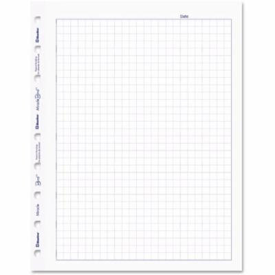 Blueline Miraclebind Quad Ruled Refill Sheets, White