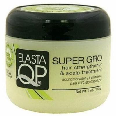 Elasta QP Super Gro Hair Strengthener & Scalp Treatment, 4 oz