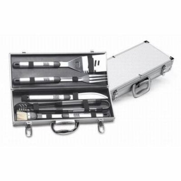 Picnic Plus 5 Piece Stainless Steel Handle Deluxe Barbecue Tool Set