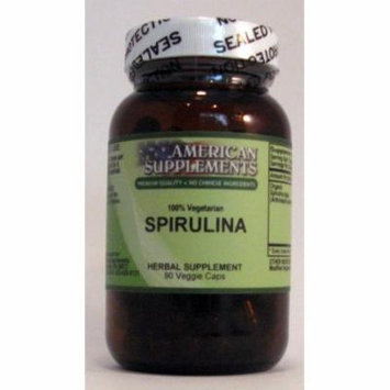 Spirulina American Supplements 90 VCaps