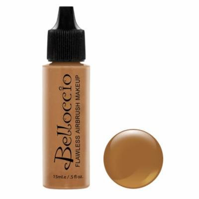 Belloccio Pro Airbrush Makeup HAZELNUT SHADE FOUNDATION Flawless Face Cosmetics
