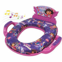 Nickelodeon Dora the Explorer Deluxe Soft Potty Seat with Sound