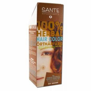 Sante - Herbal Hair Colors 100 gm, Nut Brown 100 gm