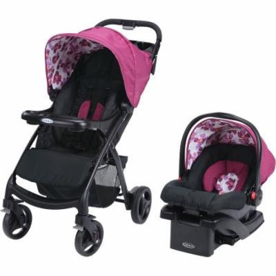 Graco Verb Click Connect Travel System, with SnugRide Click Connect 30 Infant Car Seat, Caris