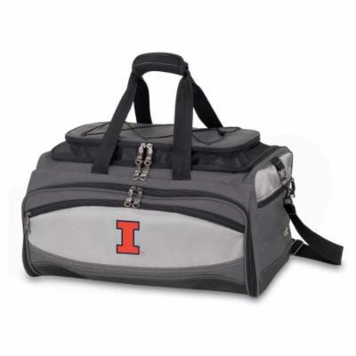 Illinois Buccaneer Tailgating Embroidered Cooler (Black)