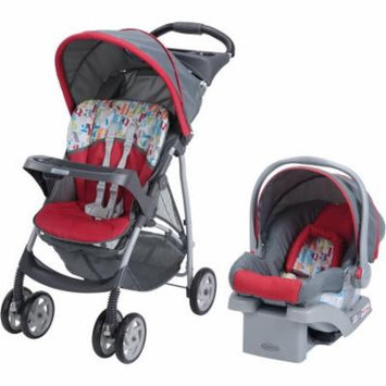 Graco LiteRider Click Connect Travel System, with SnugRide Click Connect 22 Infant Car Seat, Signal