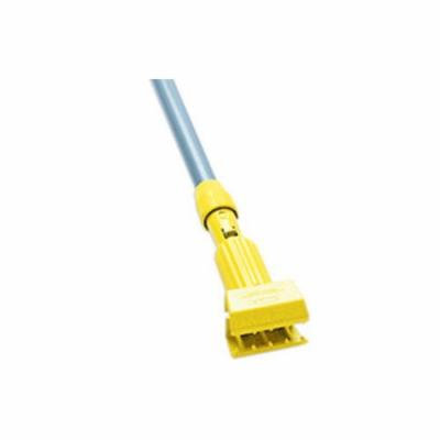 Rubbermaid Commercial Products Gripper Clamp Style Mop Handle with Fiberglass Handle/Yellow Plastic Head
