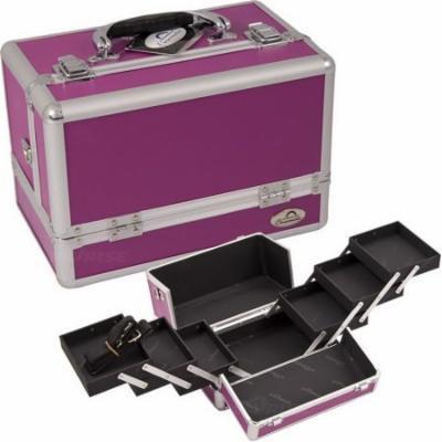 Sunrise C0001PPPL Purple Cosmetic Case - C0001
