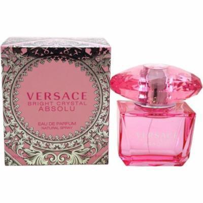 Versace Bright Crystal Absolu for Women Eau de Parfum, 3 oz