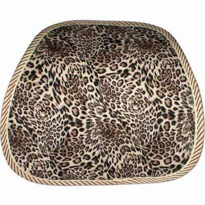 QVS Ergonomic Lumbar Back Support, Leopard