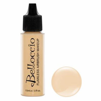 New Belloccio Pro Airbrush Makeup BUFF SHADE FOUNDATION Flawless Face Cosmetics