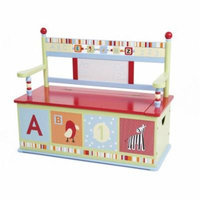 Levels of Discovery Alphabet Soup Bench Seat with Storage