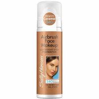 Sally Hansen Airbrush Face Makeup Foundation, 340 Warm Caramel, 1 oz