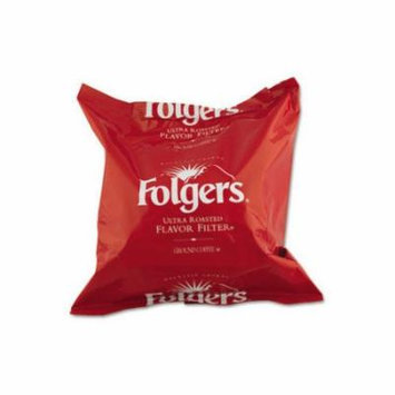 FOLGERS (40 per Carton) Coffee Filter Pack, Regular Flavor, .9 oz.