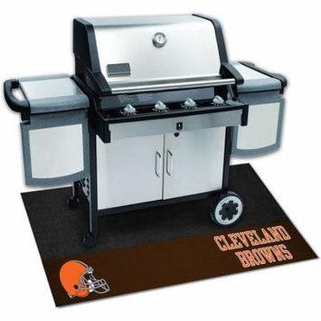 FANMAT 12181 NFL Cleveland Browns Grill Mat