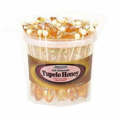 All Natural Tupelo Honey Tea Spoons Bulk Pack: 50 Count
