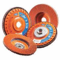 NORTON 66254400265 Flap Disc, 5 In x 80 Grit, 7/8