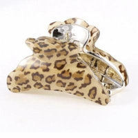 Ladies Hairstyle Ornament Plastic Hair Claw Clamp Hairclip Brown