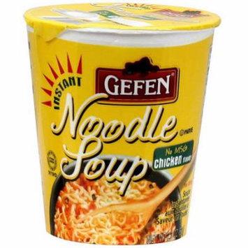 Gefen Instant Chicken Flavor Noodle Soup, 2.3 oz (Pack of 12)