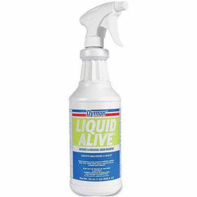 Dymon Liquid Alive Instant & Residual Odor Digester, 32 oz