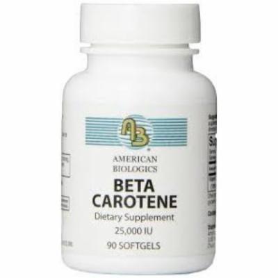 Beta Carotene American Biologics 90 Softgel