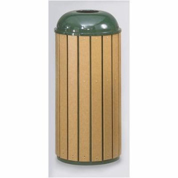 Rubbermaid Commercial Products 22-Gal Regent 50 Series Round Top Waste Receptacle (Set of 3)