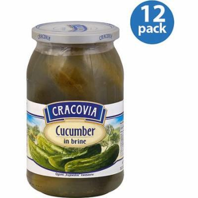 Cracovia Cucumber in Brine, 30.33 oz, (Pack of 12)
