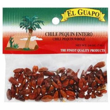 El Guapo Whole Chile Pequin, 0.25 oz, (Pack of 12)