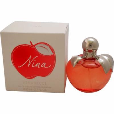 Nina by Nina Ricci for Women EDT Spray, 2.7 oz