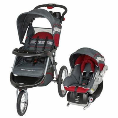 Baby Trend Expedition ELX Jogging Stroller And Car Seat Travel System TJ93701